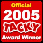 Officialtackyawardwinner2005