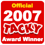 Officialtackyawardwinner2007