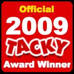 Officialtackyawardwinner2009