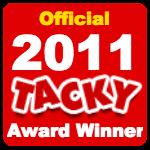 Officialtackyawardwinner2011