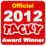 Officialtackyawardwinner2012