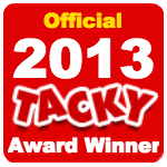 Officialtackyawardwinner2013