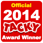 Officialtackyawardwinner2014