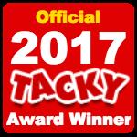 Officialtackyawardwinner2017