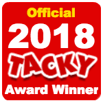 Officialtackyawardwinner2018