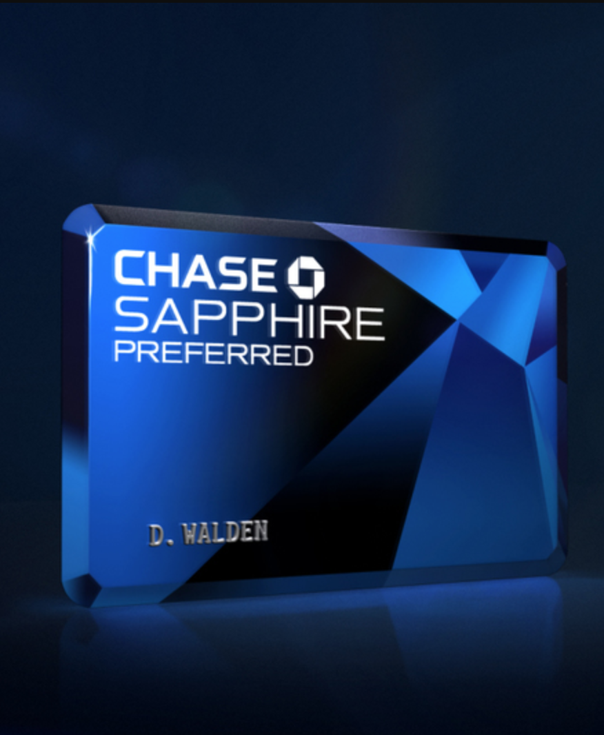 Ad credit card chase sapphire preferred